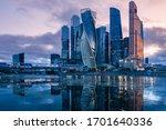 Russia. Skyscrapers In The...