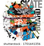 typography hand drawn... | Shutterstock .eps vector #1701641356