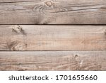 Texture Of Brown Wooden Boards...