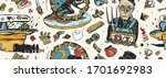 new world great depression.... | Shutterstock .eps vector #1701692983