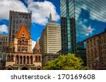 Cluster Of Buildings At Copley...
