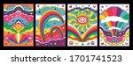 Psychedelic Art 1960s Hippie...