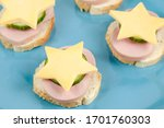 Ham And Cheese Sandwiches In...