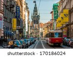 prague czech republic   oct 01  ... | Shutterstock . vector #170186024