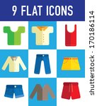 clothing flat icon