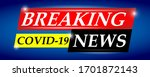 breaking news headline template.... | Shutterstock .eps vector #1701872143