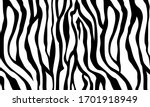 tiger skin pattern black and... | Shutterstock .eps vector #1701918949