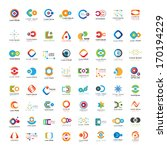 business icons set   isolated... | Shutterstock .eps vector #170194229