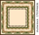 abstract silkfabric hijab scarf ... | Shutterstock .eps vector #1701946636