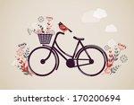 vintage retro bicycle...