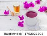 Tea Of Bougainvillea Flowers Or ...