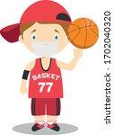 cute cartoon vector... | Shutterstock .eps vector #1702040320