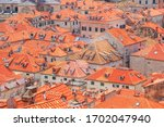 summer mediterranean cityscape  ... | Shutterstock . vector #1702047940