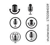 design of microfone icon vector ...