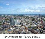 aerial view of frankfurt am... | Shutterstock . vector #170214518