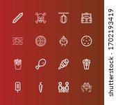 Editable 16 Cartoon Icons For...