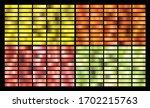 gold  silver  pink  orange ... | Shutterstock .eps vector #1702215763