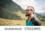 sportsman portrait outdoor in... | Shutterstock . vector #170223890
