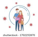 protect measures against virus. ...   Shutterstock .eps vector #1702252870