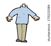 cartoon male body  mix and... | Shutterstock .eps vector #170225384