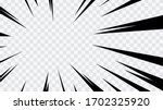 abstract comic book flash... | Shutterstock .eps vector #1702325920