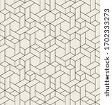 vector seamless pattern. modern ... | Shutterstock .eps vector #1702333273