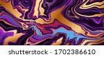 rose gold and purple ruby... | Shutterstock .eps vector #1702386610