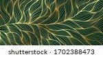 luxury golden emerald wallpaper.... | Shutterstock .eps vector #1702388473