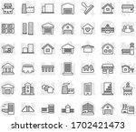 editable thin line isolated...   Shutterstock .eps vector #1702421473