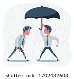 businessmen with and without...   Shutterstock .eps vector #1702432603