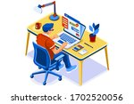 concept of study  studying...   Shutterstock .eps vector #1702520056