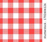 buffalo check plaid pattern.... | Shutterstock .eps vector #1702606126