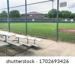 Vacant Bleachers Near Empty...