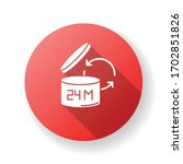 product shelf life red flat... | Shutterstock .eps vector #1702851826