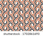 abstract geometric pattern. a... | Shutterstock .eps vector #1702861693