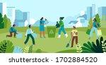 vector illustration in flat... | Shutterstock .eps vector #1702884520