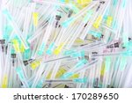 medical waste. disposable... | Shutterstock . vector #170289650
