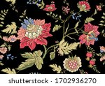 seamless pattern with stylized...   Shutterstock .eps vector #1702936270