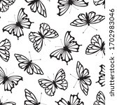 seamless pattern with... | Shutterstock .eps vector #1702983046