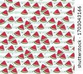 Watermelon Summer Pattern...