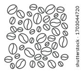 coffee beans icon isolated on...