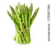 Asparagus On The White...