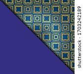 vector geometric background for ...   Shutterstock .eps vector #1703242189