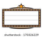 blank cinema billboard vector... | Shutterstock .eps vector #170326229