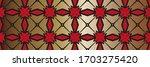 geometric pattern  gradient...   Shutterstock . vector #1703275420