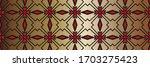 geometric pattern  gradient...   Shutterstock . vector #1703275423