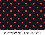 Seamless Polka Dot Pattern ...