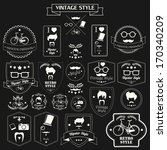 Collection Of Vintage Hipster...