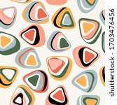 retro seamless pattern from the ...   Shutterstock .eps vector #1703476456