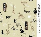 paris background   Shutterstock .eps vector #170353160